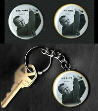 """Arnold Palmer """"The King"""" Golf Ball Markers & Keychain Set"""