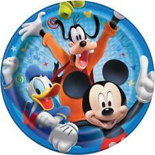 Mickey and The Roadster Racers Lunch Plates 8 Count Birthday Party Supplies