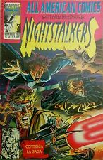ALL AMERICAN COMICS n.50-NIGHTSTALKERS- MARVEL,Comic Art 1993