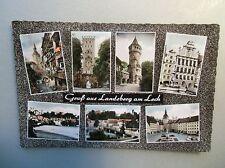 Ansichtskarte Landsberg am Lech 60er?? 7 Ansichten