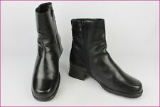 Bottines NOTHING ELSE Cuir Noir T 39 TBE