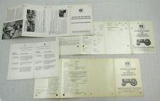 IHC 323 423 523 624 Schlepper B-45 B-46 Pressen Getriebe Technische Daten 60er