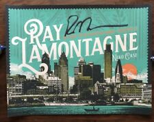Ray Lamontagne Autographed Signed Philadelphia PA 2018 Official Concert Poster