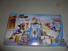 NEW IN BOX DC SUPER HERO GIRLS HIGH SCHOOL PLAYSET BATGIRL ACTION FIGURE NIB