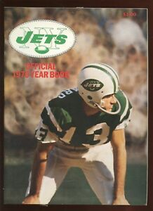 1970 NFL Football New York Jets Yearbook