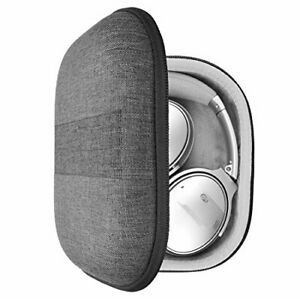 Geekria EJB38 Gray Headphone Carrying Case (Morocco Leather)