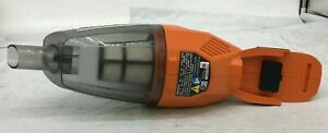 Ridgid R860902IB 18VCordless Hand Vacuum w/Crevice Nozzle, Utility Nozzle, LN, M