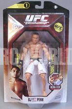 Jakks UFC MMA Ultimate Fighting BJ PENN The Prodigy  Series 1 Action Figure #A2