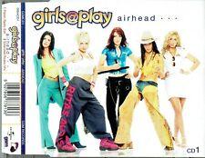 """Girls@Play - 5"""" CD - Airhead. CD1 (Radio Edit) / (Extended Rodeo Mix) Eastenders"""