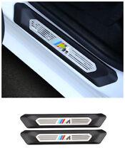 2PCS Rear Door sill scuff plate Guards trim For BMW X4 G02 X3 G01 2018 2019