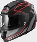 CASCO INTEGRALE FF397 VECTOR FT2 VANTAGE MATT BLACK RED LS2 TG XL