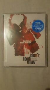 DON'T LOOK NOW Criterion Collection Blu-ray New and sealed Region 'A'