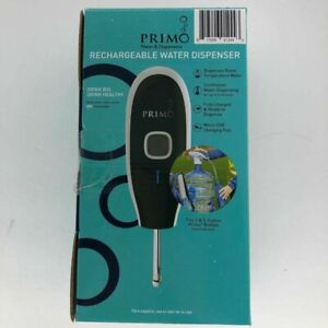 Primo Rechargeable Electronic Water Dispenser Dishwasher Safe Tube 2 & 3 gallon
