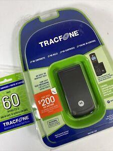 Motorola W series W260g - Black (TracFone) Cellular Phone