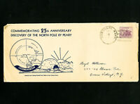 US Rare Early North Pole Cover