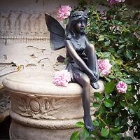 Outdoor Sitting Magic Fairy Garden Decorative Figure Resin Ornament Sculpture
