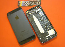 COVER RICAMBIO ORIGINALE APPLE PER IPHONE 5 A1429 NERO +FLEX PULSANTE ACCENSIONE