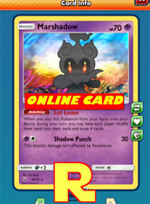 Marshadow (Shining Legends) -for Pokemon TCG Online (DIGITAL ptcgo in Game Card)