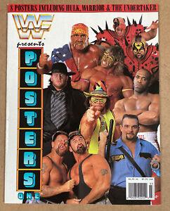 WWF Presents Posters One 1 Magazine WWE Hulk Hogan Ultimate Warrior Undertaker