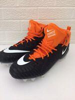 Nike Force Savage Pro Men's Football Cleats Size 13 (918346-019) Orange / Black