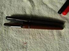 Calligraphy Pen Platignum Silver Nib 3B & Fine Light & Dark Browm
