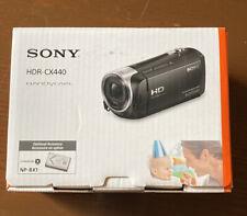 Sony HDR-CX440 HandyCam Full HD 30x Zoom - SHIPS FAST!