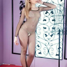 Sexy Lingerie Fishnet Body stockings Dress Underwear Babydoll Sleepwear NY242B