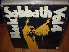 Black Sabbath vol 4 ( rock ) warner 2602 green