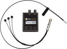 K&K Sound Trinity Mini PRO 3 Sensor Guitar Pickup w/Mic/Preamp/EQ/GOLD Strap Btn