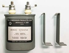 High Voltage Paper In Oil (PIO) Capacitors - 0.05 uF / 50nF - 5000 VDCW
