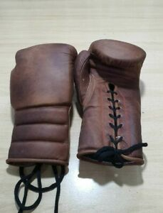 New Custom Made Professional Cowhide Boxing Gloves Any Logo Or Name