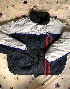 Ralph Lauren Polo Sport Arctic Challenge Puffer Down Jacket XL White Black Blue