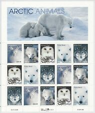 Scott # 3292a - 33 Cent - 1999 Artic Animals - Mint NH Sheet