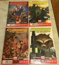 Guardians Of The Galaxy 1, 2, 3, 4 NM