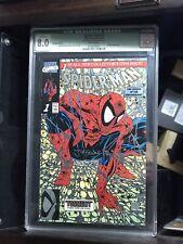 Spider-Man 1 Platinum Edition CGC 8.0 Todd McFarlane signature NOT authenticated