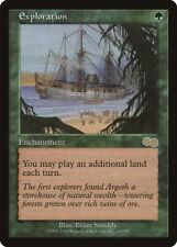 MTG X1: Exploration, Urza's Saga, R, Light Play - FREE US SHIPPING!