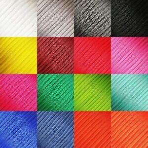 Paracord MicroCord 2/4mm Fallschirmschnur Nylonleine 5m-30m verschiedene Farben