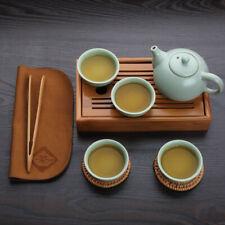 Tea Tray China Kung Fu Tea Pad Bamboo Tea Board Tea Tools Cup Teapot Crafts Tray