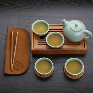 Tray tea board Tea Cup Teapot China Kung Fu Bamboo Tea Tools for  Crafts Tray