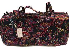 Vera Bradley Large Traveler Duffel (Midnight Wildflowers) Brand New w/ Tags!