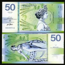 Netherlands 2020 50 Gulden Private Issue Polymer Banknote - Mata Hari - Type 2