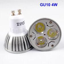 4 x GU10 4W High Power Warm White Light Bulbs