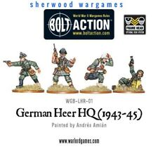 28mm Warlord Games German Heer HQ 1943-45, BNIB, WWII Bolt Action,