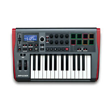 Novation Impulse 25-Key MIDI Controller Keyboard With 8 Drum Pads
