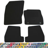 Ford Focus MK III 2011+ Fully Tailored 4 Piece Car Mat Set with 2 Clips