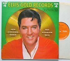 ELVIS PRESLEY - LP - GOLD RECORDS VOLUME 4 - Rare 1969 Stereo RCA Orange SF 7924