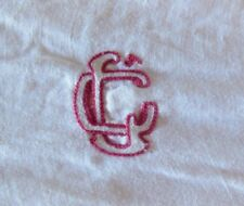 "Ancienne broderie monogramme "" CL "" - linge ancien, couture"