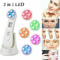 EMS Mesotherapy Electroporation RF Facial LED Photon Anti Aging Skin Care Device