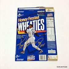 Ken Griffey Jr. Honey Frosted Wheaties Cereal Box Collectors Edition 1996