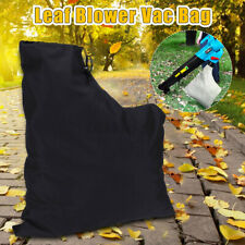 Zippered Leaf Blower Vac Vacuum Bag Cover Lawn Shredder Polyester Replacement